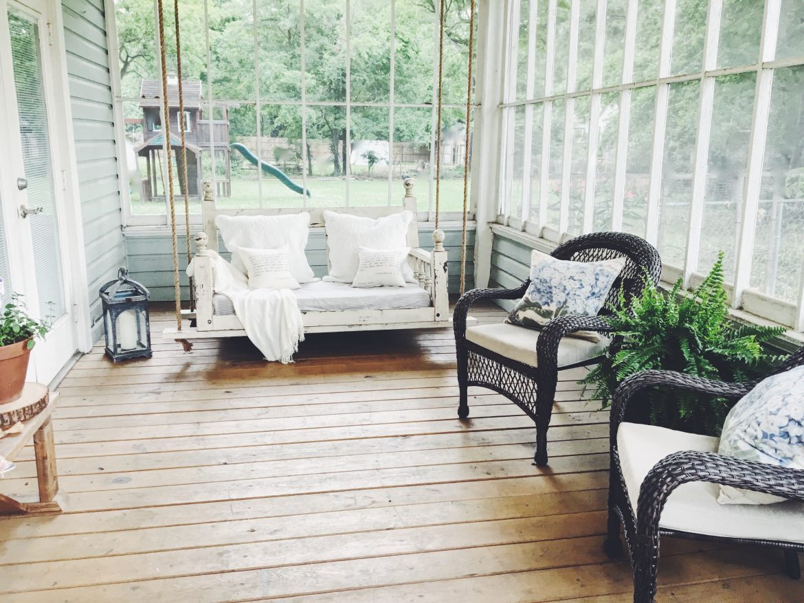 A FEW UPDATES TO OUR PORCH