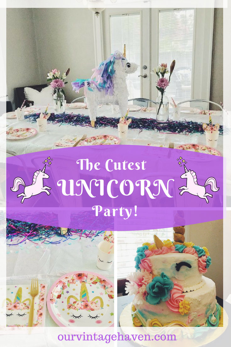 The Cutest Unicorn Party